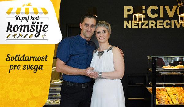 """Pecivo Neizrecivo"": Zbog njih Detelinara miriše na puter kifle i kroasane"